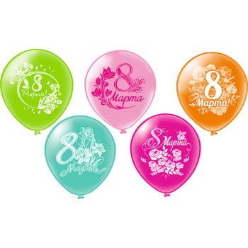 Воздушные шары на 8 марта
