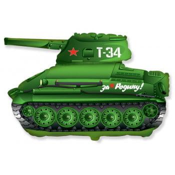 Шар Фигура Танк зеленый