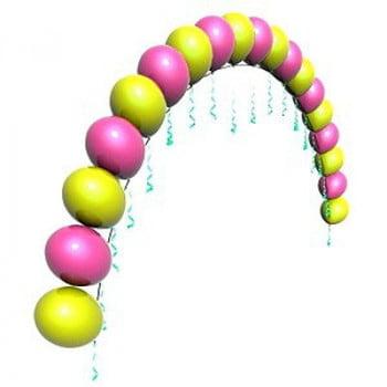 Цепочка из воздушных шаров