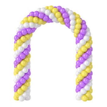Арка из шаров цена за 1 метр (цвет на выбор)