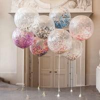 Большие шары с конфетти