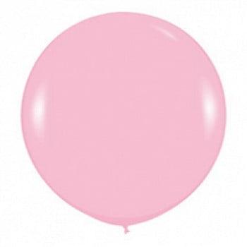 Шар большой Розовый пастель 100 см