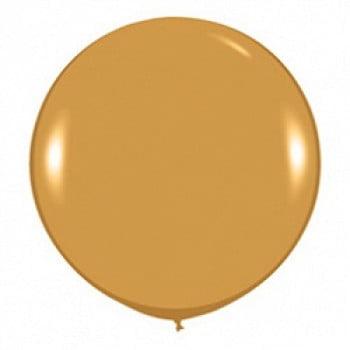 Шар большой Золото яркое, металлик 100 см