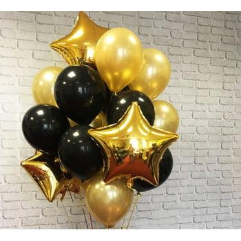 Букет черно-золотой