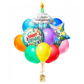 Букет из шаров на день рождение