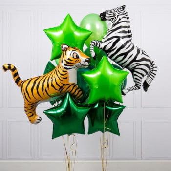Набор шариков Зебра и Тигр