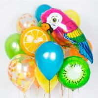 Набор шаров Фруктовый Попугай 14 шт