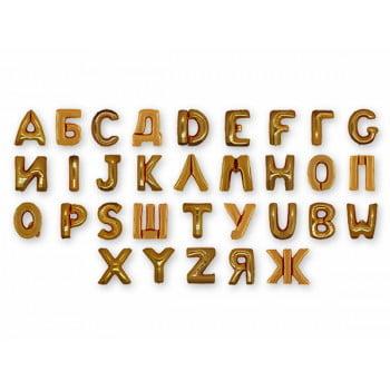 Фольгированные шары буквы (1 метр)