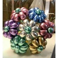 Цветы из шаров Хром (1 шт)