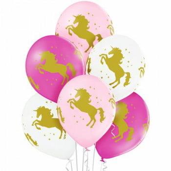 Воздушные шары Единороги
