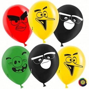 Воздушные шарики Angry Birds