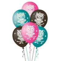 Воздушные шарики Совушки