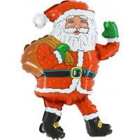 Дед мороз фольгированная фигура 85 см
