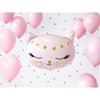 Шар Кошка розовая