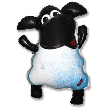 Шар Весёлая овечка (63см)