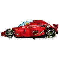 Шар фольгированный гоночная машина (80см)