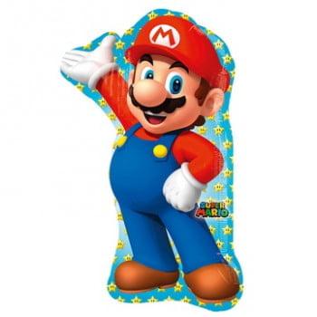 Шар фольгированный Супер Марио (83 см)