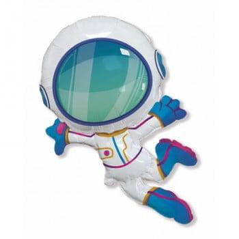 Шар фольгированный Космонавт в полете