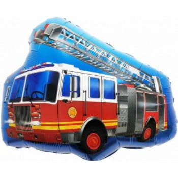 Шар Пожарная машина с лестницей (69 см)