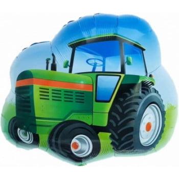 Шар Трактор, Зеленый (66 см)