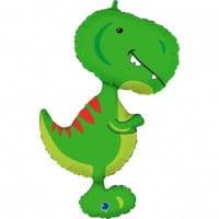 Шар Фигура Динозавр Тираннозавр Зеленый 97 см