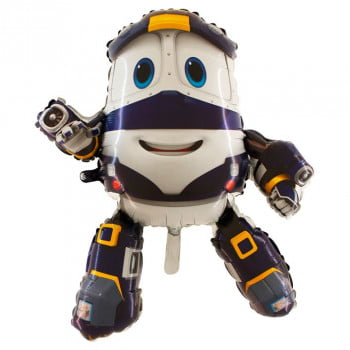 Шар Фигура Робот поезд Кей 88 см