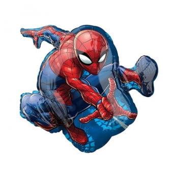Шар фольгированный Человек паук в прыжке