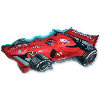 Шар фольгированный гоночная машина
