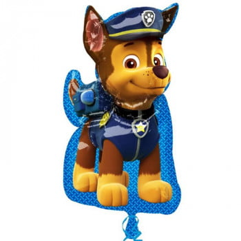 Шар фольгированный щенячий патруль гонщик