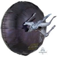 Шар фольгированный Звездные войны ( 3D, 81 см)