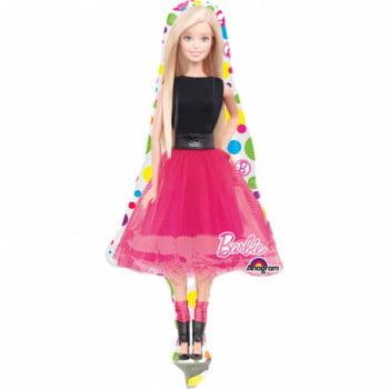 Шар фольгированный Барби