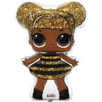 Шар фольгированный кукла ЛОЛ QUEEN BEE (87 см)
