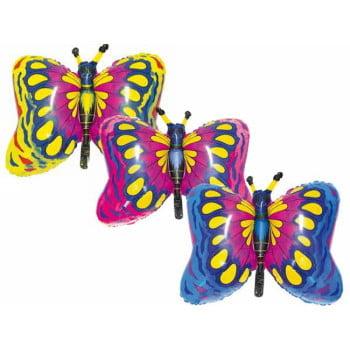 Шар фольгированный Бабочка 90 см