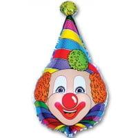Шарик Клоун в колпаке (100см)