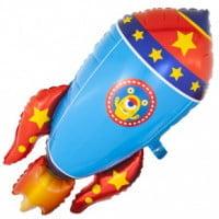 Шар Космическая ракета 104см
