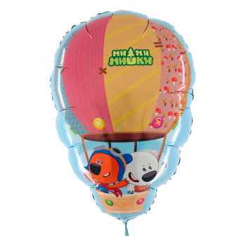 Шар Ми-ми-мишки на воздушном шаре