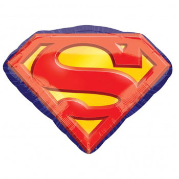 Шар Супермен эмблема 66 см