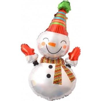 Шар Веселый снеговик (99см)
