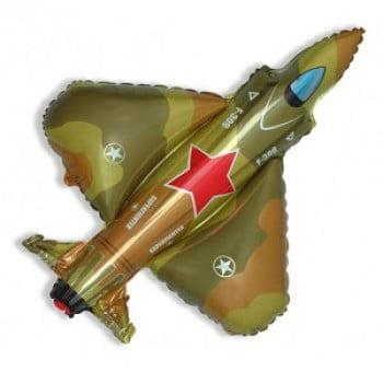 """Шар """"Военный Истребитель"""" 81 см"""