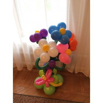 Цветы из шаров v 2.0  (120 см)