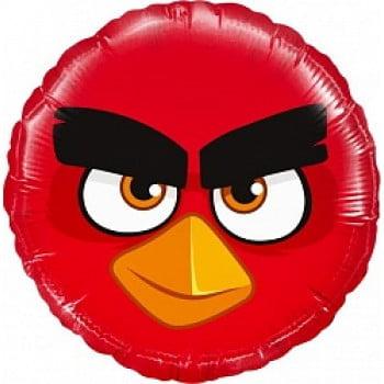 Шар круг Angry Birds Красный