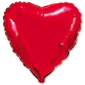 Сердце красное Большое (80см)