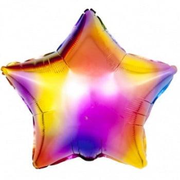 Звезда радужные блики