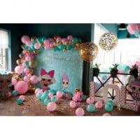 Фотозона из шариков Куклы ЛОЛ