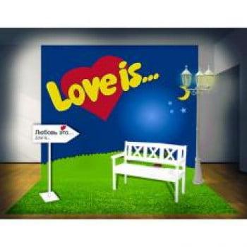 Фотозона Love is