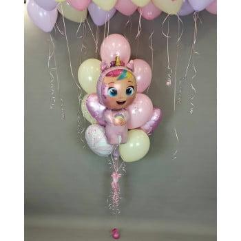 Букет шаров Младенец Dreamy