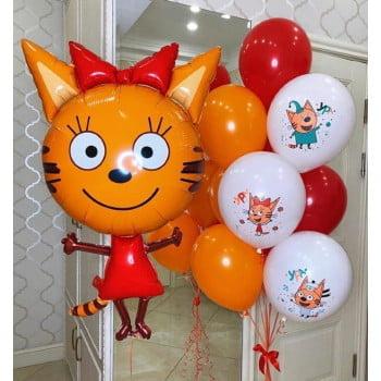 Набор шариков Карамелька Три кота