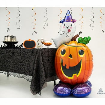 Ходячий шар на Хеллоуин Тыква