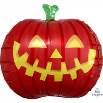 Шар Тыква на Хэллоуин объёмная (Анаграм 46 см)