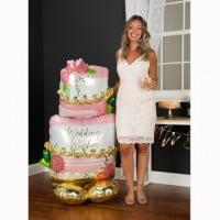 Свадебный торт ходячая фигура (149 см)